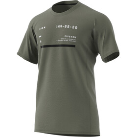 adidas Five Ten Trailcross Camiseta Hombre, legacy green